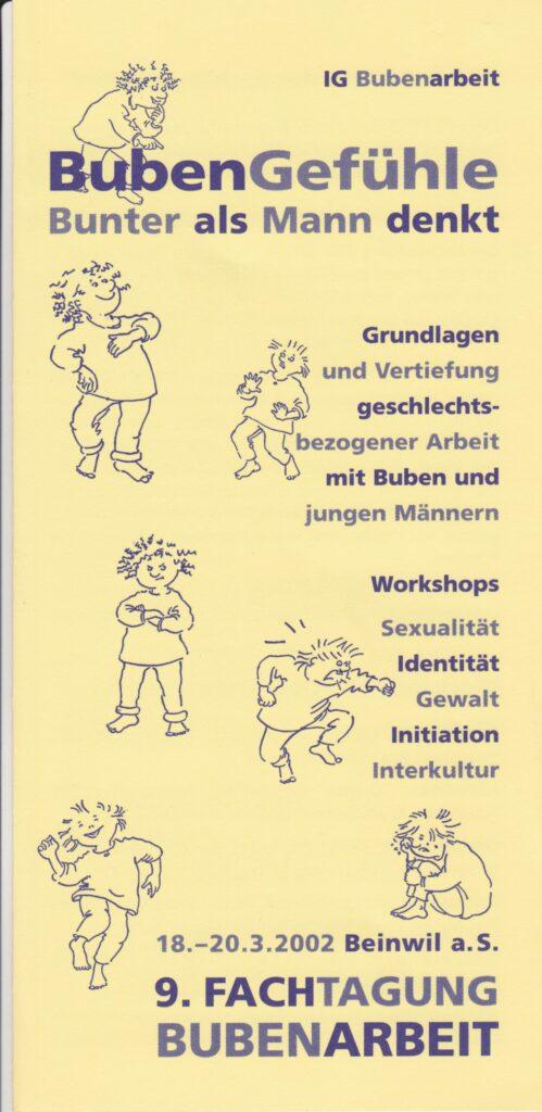 Labor_Maennlichkeit_AusschreibungFachtagungBubenarbeit2000